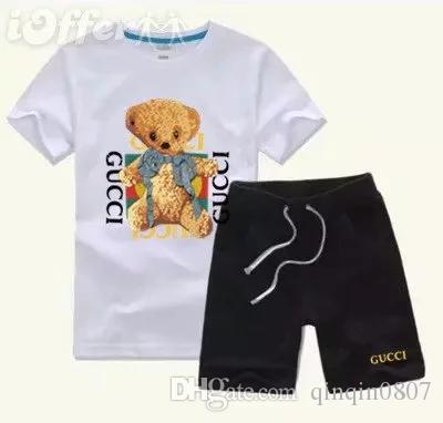 8e2ca025872 Gucci Short Sleeve Gucci Rhombus Print Dress Size 4 12 Source · Kids Sets  Kids T shirt And Pant Children Cotton Sets Baby Boys Girls