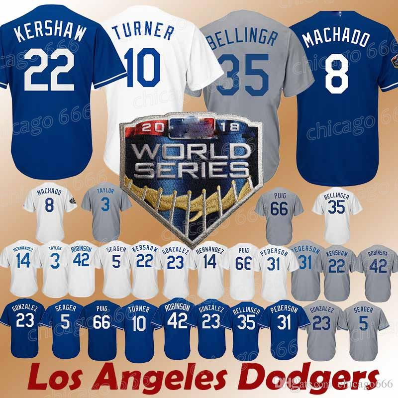 60fa00a9c spain 2019 los angeles dodgers jerseys 22 clayton kershaw 10 justin turner  5 corey seager 23