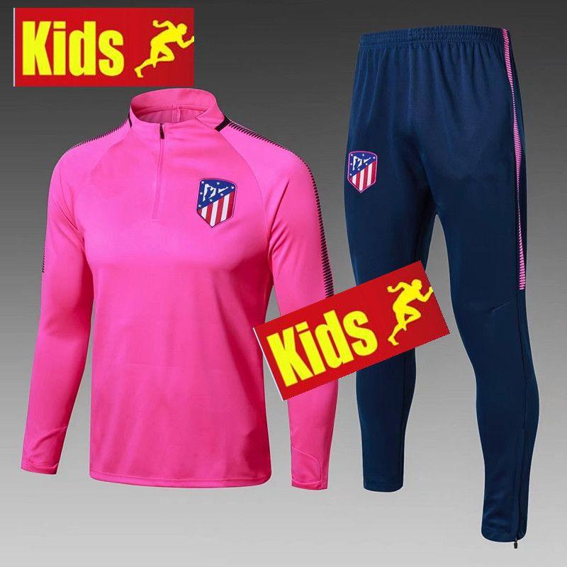 e9e009cfc Atleticos Jacket TRACKSUIT Training Suit Kids Kits 2017 2018 ...