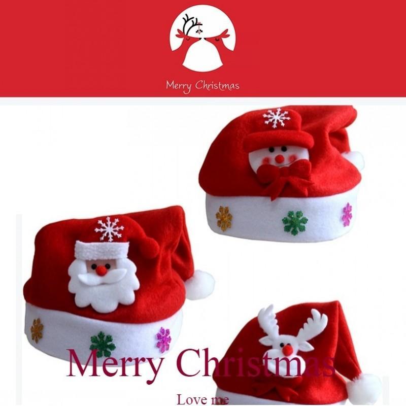 Noel Enfants Lampe Neige De Renne Cadeaux Bonhomme Led Cap Père Chapeaux Nuit Éclairage Noël Elk Adultes Fête Chapeau wmO8nvN0