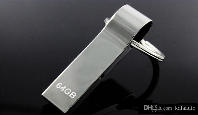 100% Reale Originale da 8 GB 16 GB 32 GB 64 GB Portachiavi USB Flash Drive USB 2.0 USB Sticks Memory Pen Drive Stick Pendrive Thumbdrive