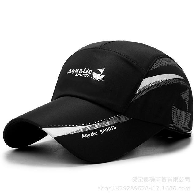 75e5c1f34e5c6 2018 New Summer Baseball Cap Men Breathable Quick Drying Mesh Hats Women  Sunshade Caps Customized Hats Custom Hat From Delove520