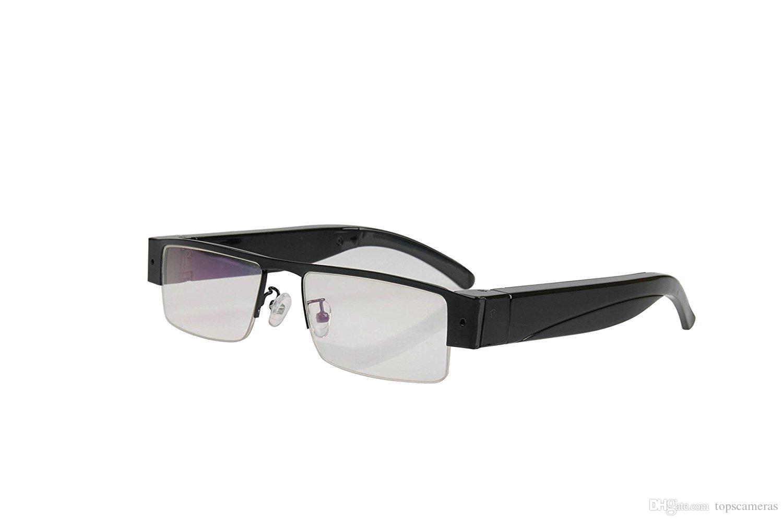 Frete Grátis 1080 P HD Sem Fio óculos wi-fi óculos de sol Da Câmera óculos de monitor de controle remoto Suporta android e iphone APP