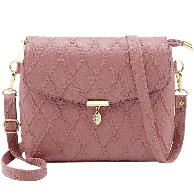 2018 Women Leather Shoulder Mini Bag Crossbody Bag Sac A Main Femme Ladies  Small Handbags Messenger Long Strap Female Clutch Fashion Bags Designer  Handbags ... d8c21734a5692