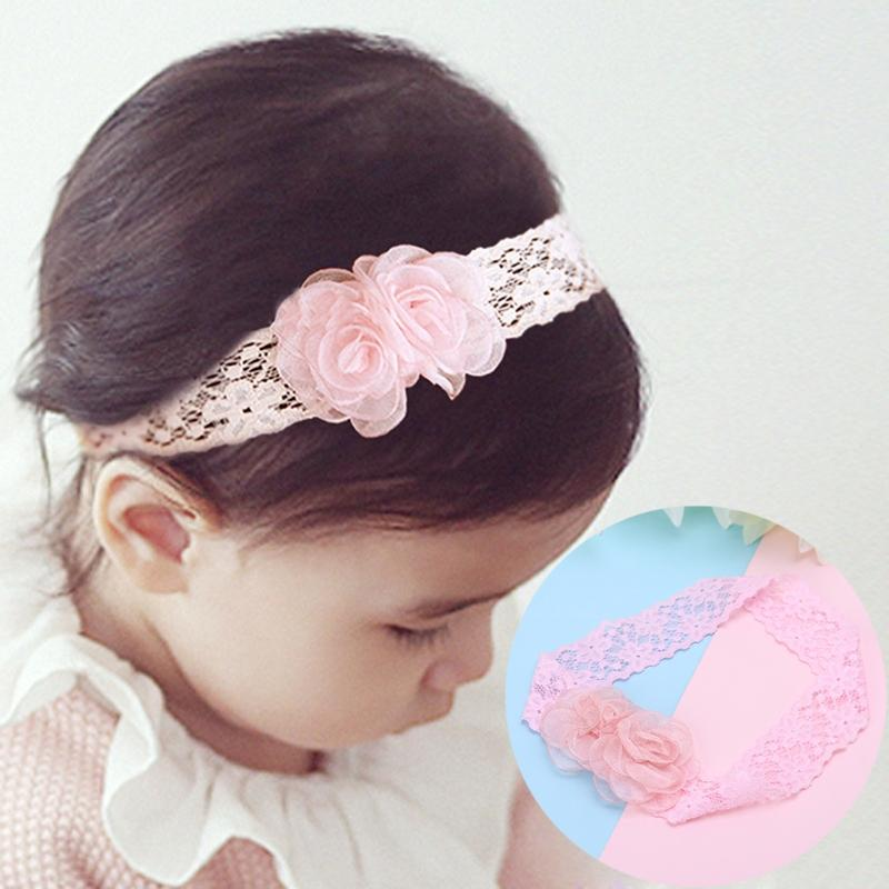 9194a9fe3ccd0 Baby Hair Band Lace Floral Headband Kids Girls Cute Children Flower  Accessories Cute Hair Accessories Online Silk Flower Hair Accessories From  Cover3129