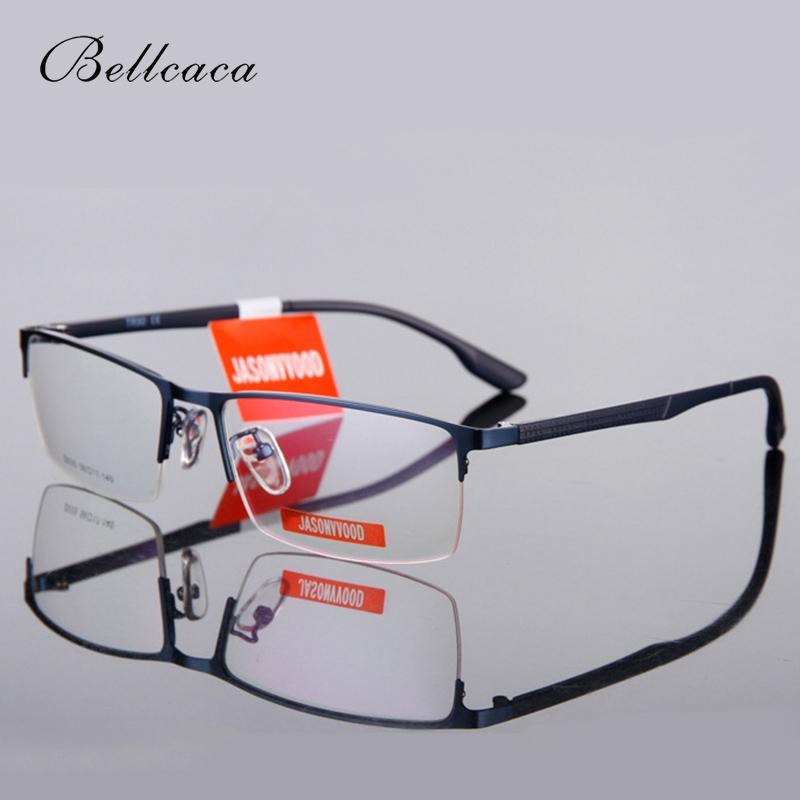315cd5da921 Bellcaca Spectacle Frame Men Eyeglasses Computer Myopia Optical ...