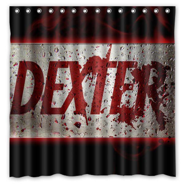 2018 Dexter Show 01 Custom Waterproof Shower Curtain 180x180 Cm From Littleman913 3819