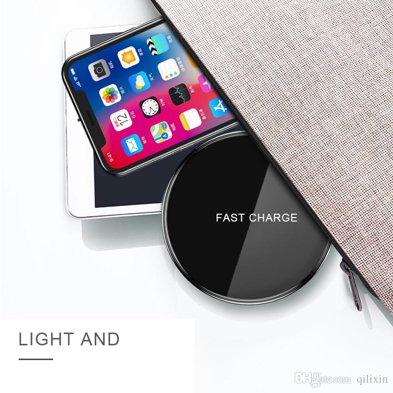 Best quanlity Fast charge Wireless Charger for Iphone Samsung and all smart cell phone connected with a receptor