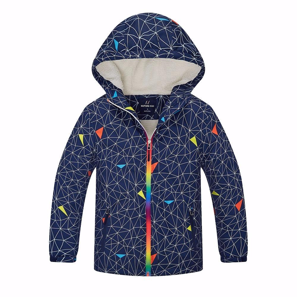 911344aeb Waterproof Index 5000mm Winter Warm Baby Boys Jackets Windproof ...