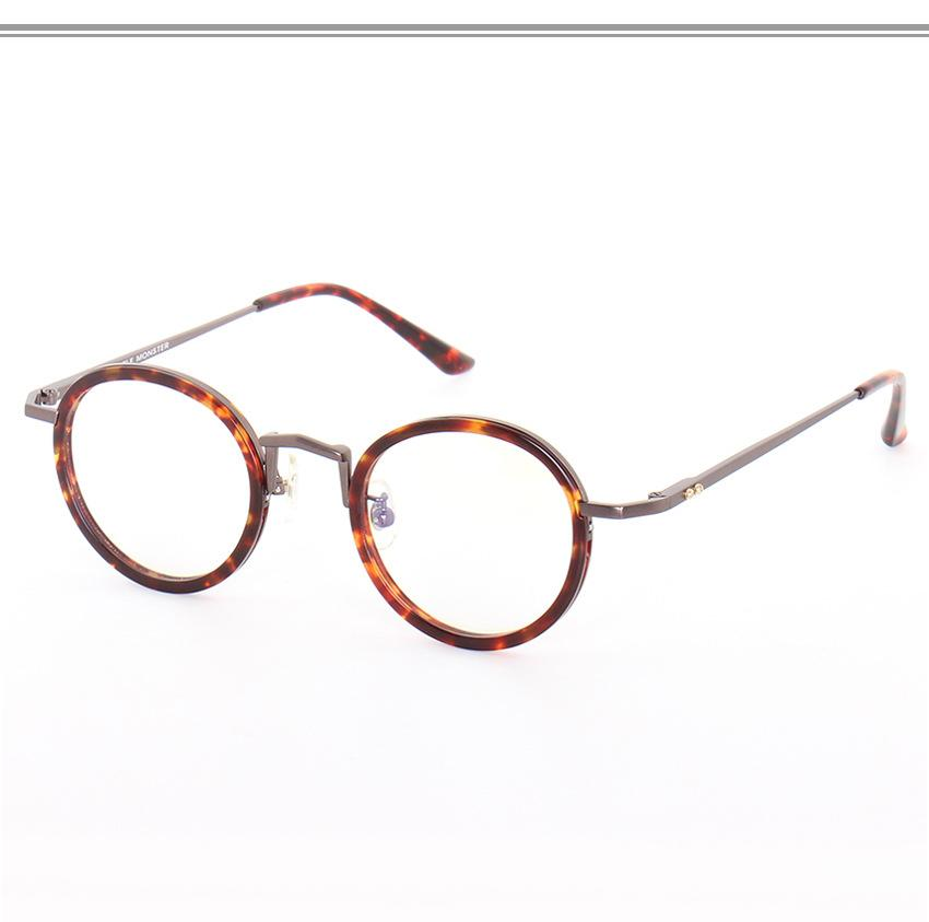 8a12e4ccab 2019 Vintage Eyeglasses Women SaTortoise Frame Glasses Men Round Glasses  Men Optical Frame For Prescription Lens Korean From Milknew