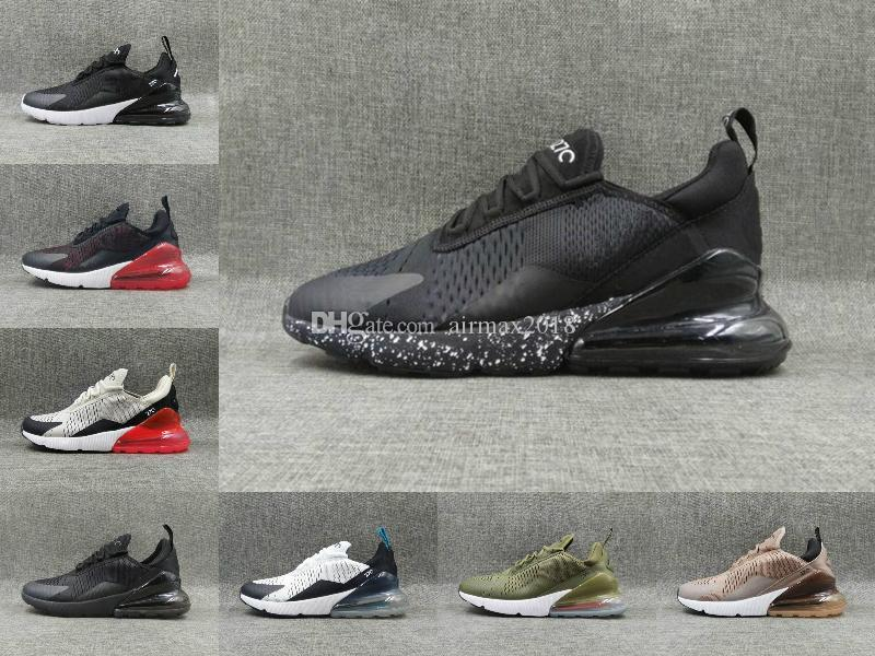 81ce231cc0dea1 2018 100% All Modle Men Women Black WHITE Training 270 Running Outdoor  Shoes 36-45 Online with  94.41 Piece on Airmax2018 s Store