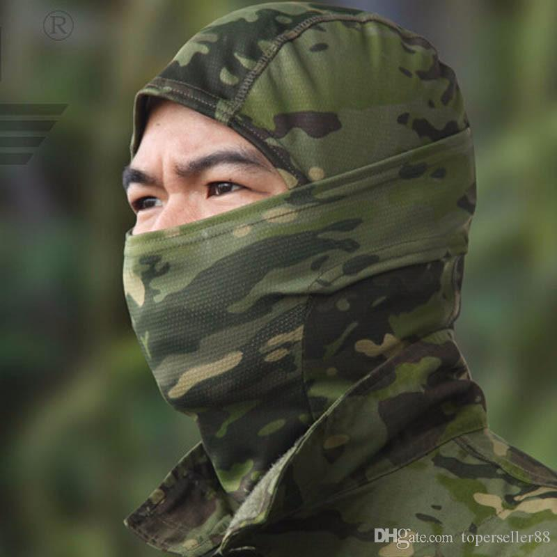 Airsoftsports Tactical Balaclava Camouflage Jagd Paintball Reiten Gesichtsmaske