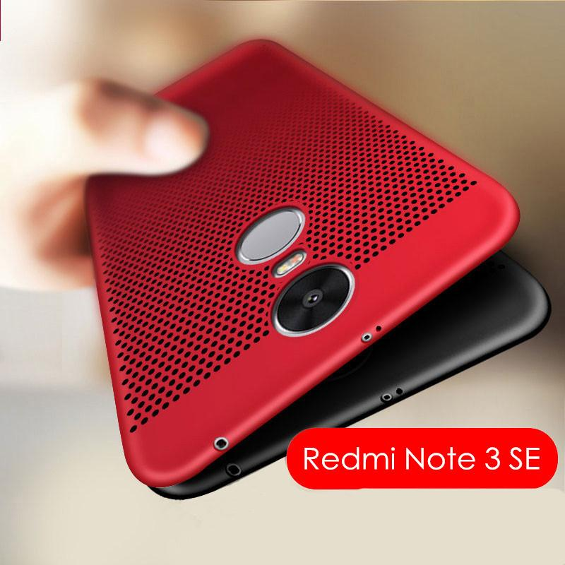 best sneakers e9243 9929f Ultra Slim Heat Dissipation Case for Xiaomi Redmi Note 3 Pro Pirme SE  Special Edition 152MM Hard PC Back Cover for Redmi Note3