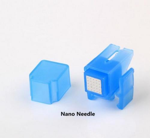 Mezoterapi Meso Gun İğne Kırışıklık Temizleme Cerrahi Stailess Çelik 5 İğneler Nano Cilt Bakımı Enjektör Kullanımı Için Bella Vital Makinesi