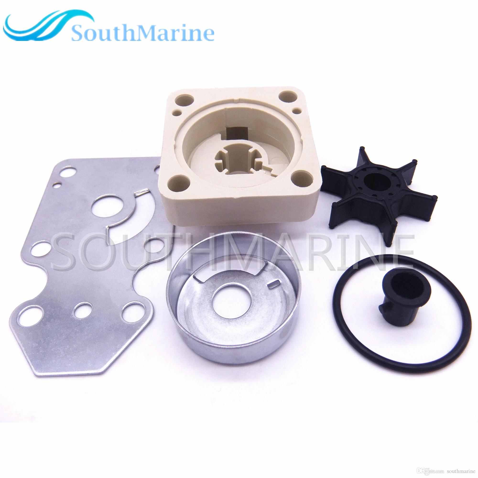 63V-W0078-00 Boat Engine Water Pump Repair Kit for Yamaha / Parsun HDX F15  15hp 4-stroke Outboard Motor 63V-W0078-00 F15 15hp 4-stroke Yamaha Outboard  ...