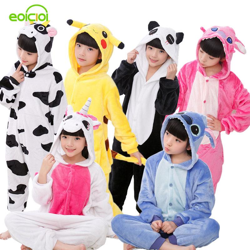 Christmas Pajamas Kids Boys Girls Pijama Children S Onesie Cosplay Animal  Totoro Unicornio Pikachu Dinosaur Panda Pyjama Enfant Y18102908 Christmas  Pyjamas ... d7b241c01
