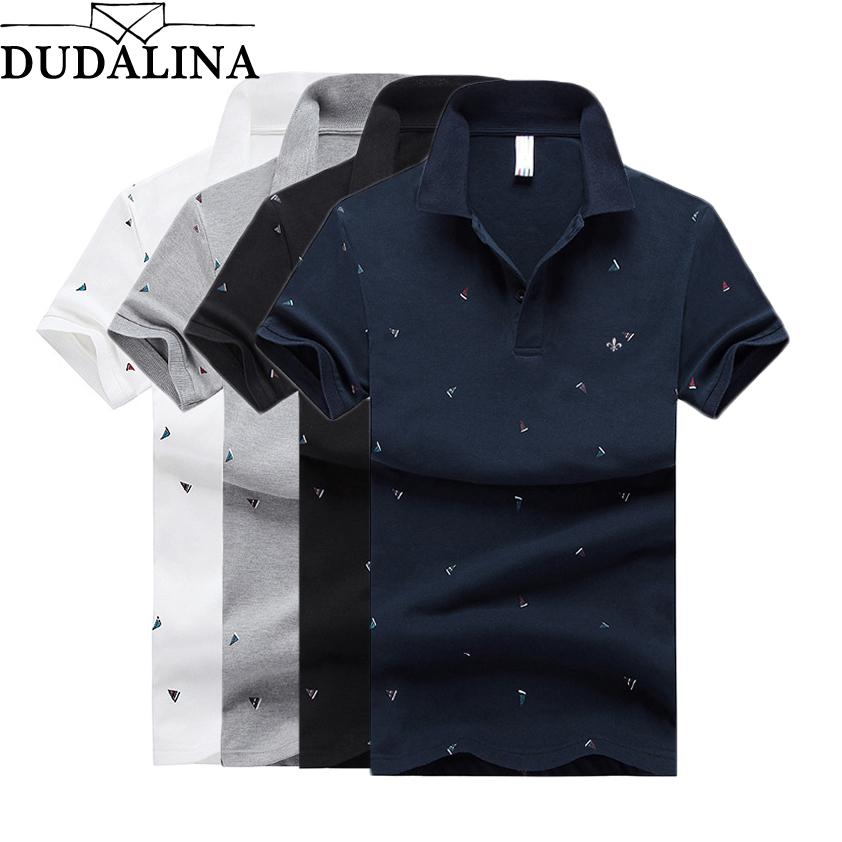 f5a4fb3099 2019 Dudalina Shirt Men Brand S Mens Embroidery And Printed Short Sleeve  Camisas Casual Stand Collar Male Shirt From Sandlucy, $28.7 | DHgate.Com