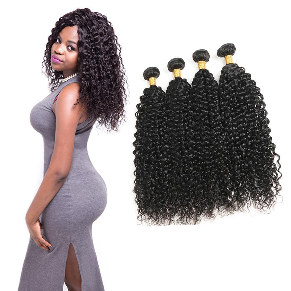 Peruvian Water Wave 4 Bundles Hair Weave 100 Human Hair 10 30 Inch