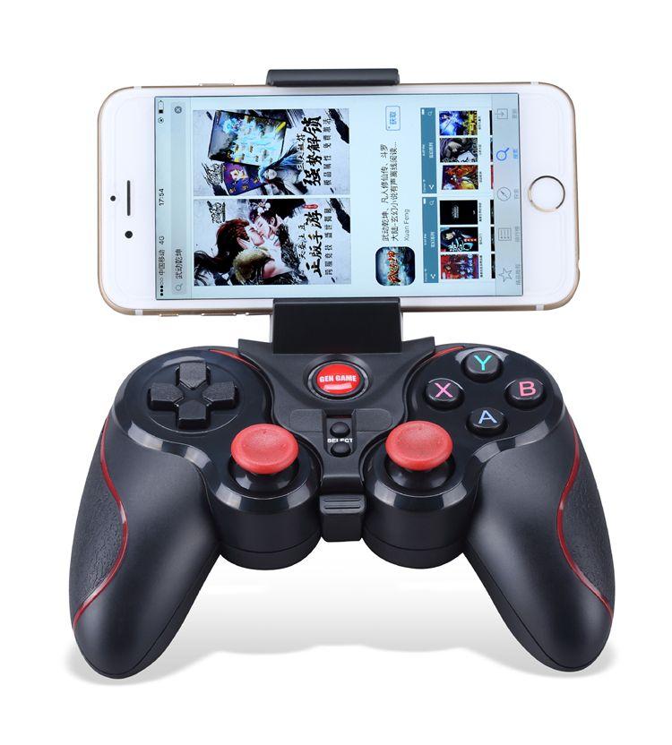 2018 S5 Kablosuz Bluetooth Gamepad Oyun Denetleyicisi Iphone IOS Android için ve IOS Platformu için 2.3 Cep Telefonu smartphone tablet