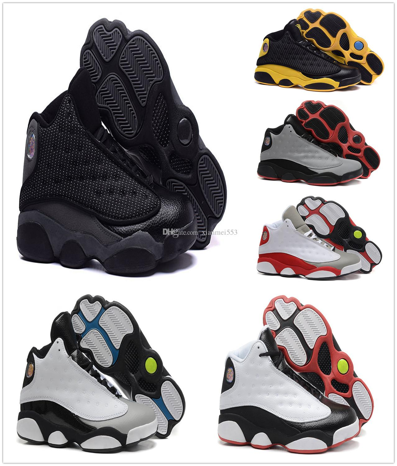 finishline really cheap wholesale 2018 New 13 men shoes bred flints grey toe He Got Game hologram barons casual fashion shoesr eur 41-47 sale limited edition discount professional CKJBXfE