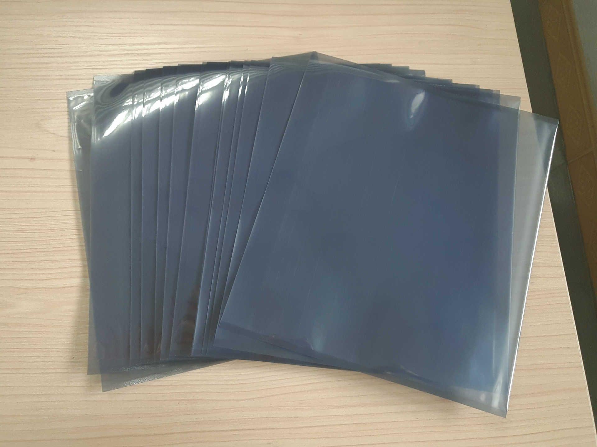 100pcs/Lot 16x25cm Anti Static Shielding Plastic Storage Packaging Bags ESD  Anti-Static Pack Bag Open Top Antistatic Package Bag