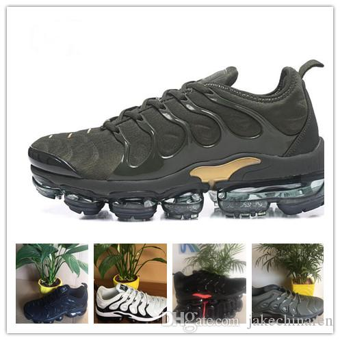 where to buy low price best store to get sale online Vapormaxssy TN Plus Runningssy Shoes 2018 Men Outdoor Run Shoes Black White Sport Walking Trainers Hiking Sports Athletic Sneakers EUR 40-45 B867Y
