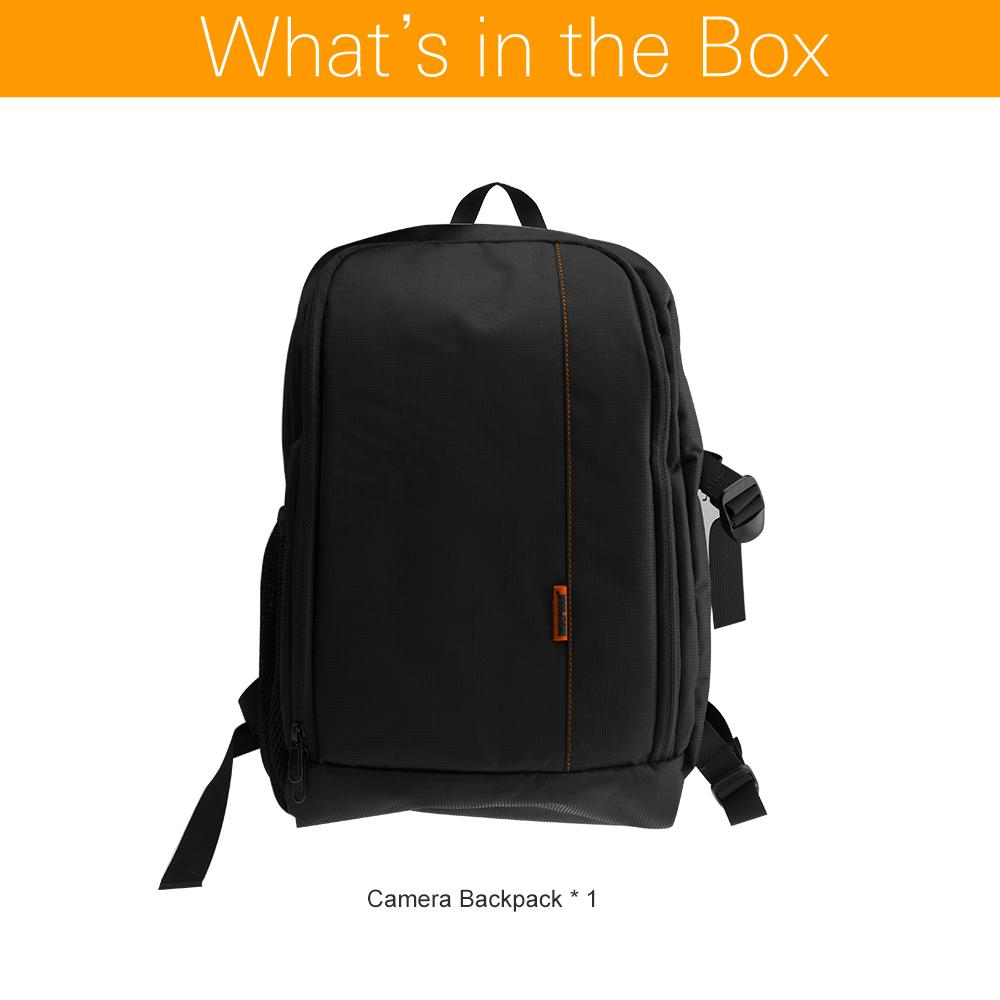 Accessories Parts Video Bags Backpack Bag For Dslr Camera Lens And