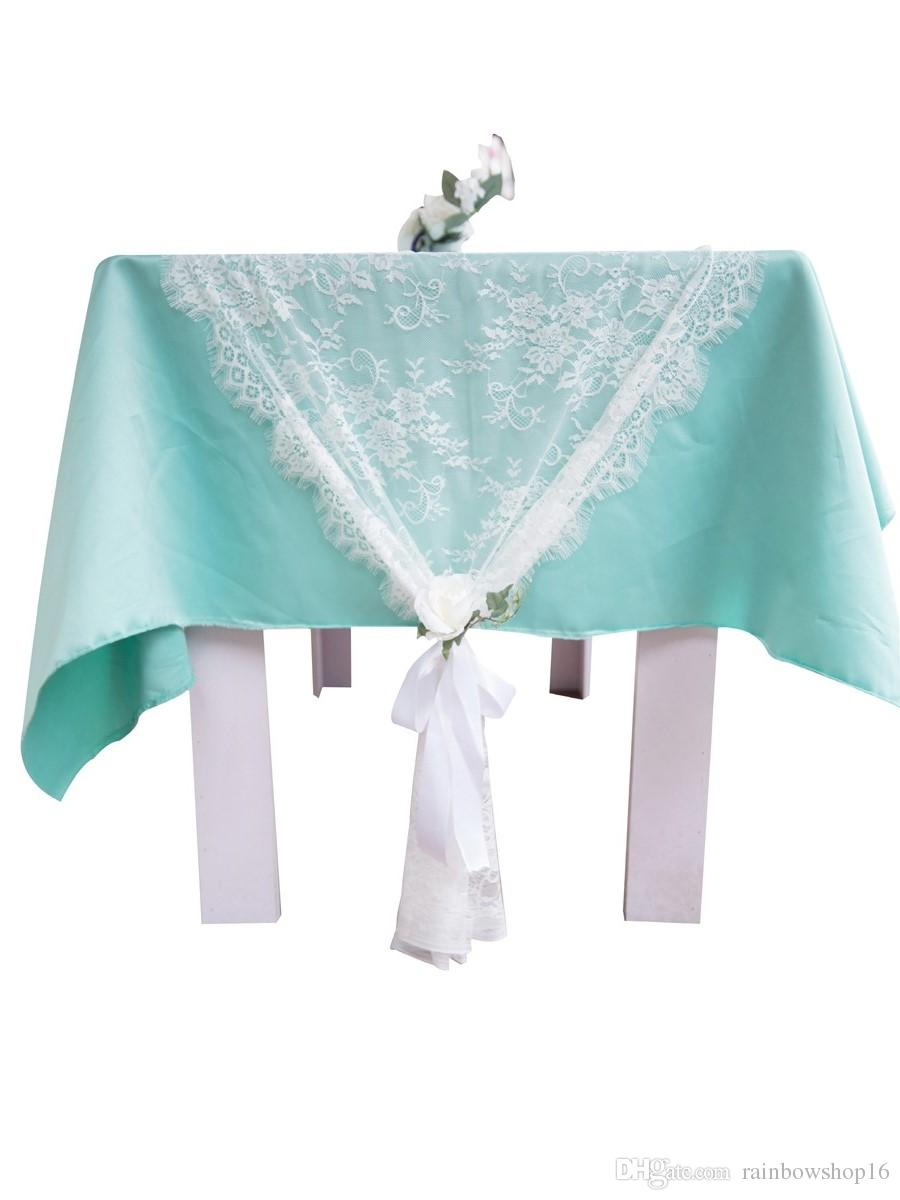 Wedding Table Runners Chair Sashes Tablecloths Covers Festive Party ...