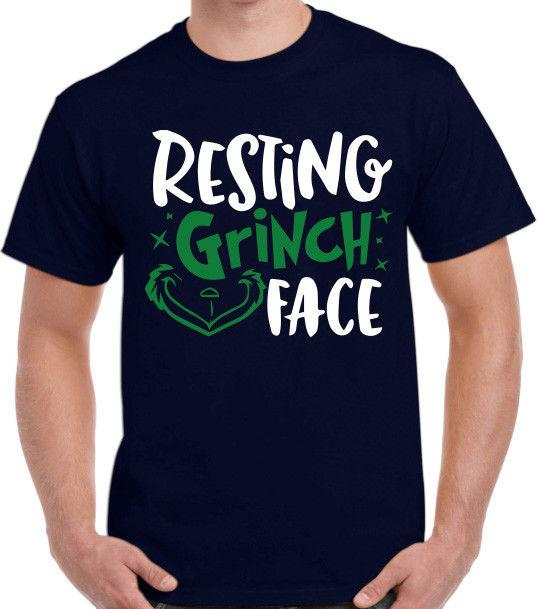 db7b8d884e54e Resting Grinch Face Custom Graphic T Shirt The Grinch That Stole Christmas  ! Shirt Tee Shirt Shirts From Freshrags