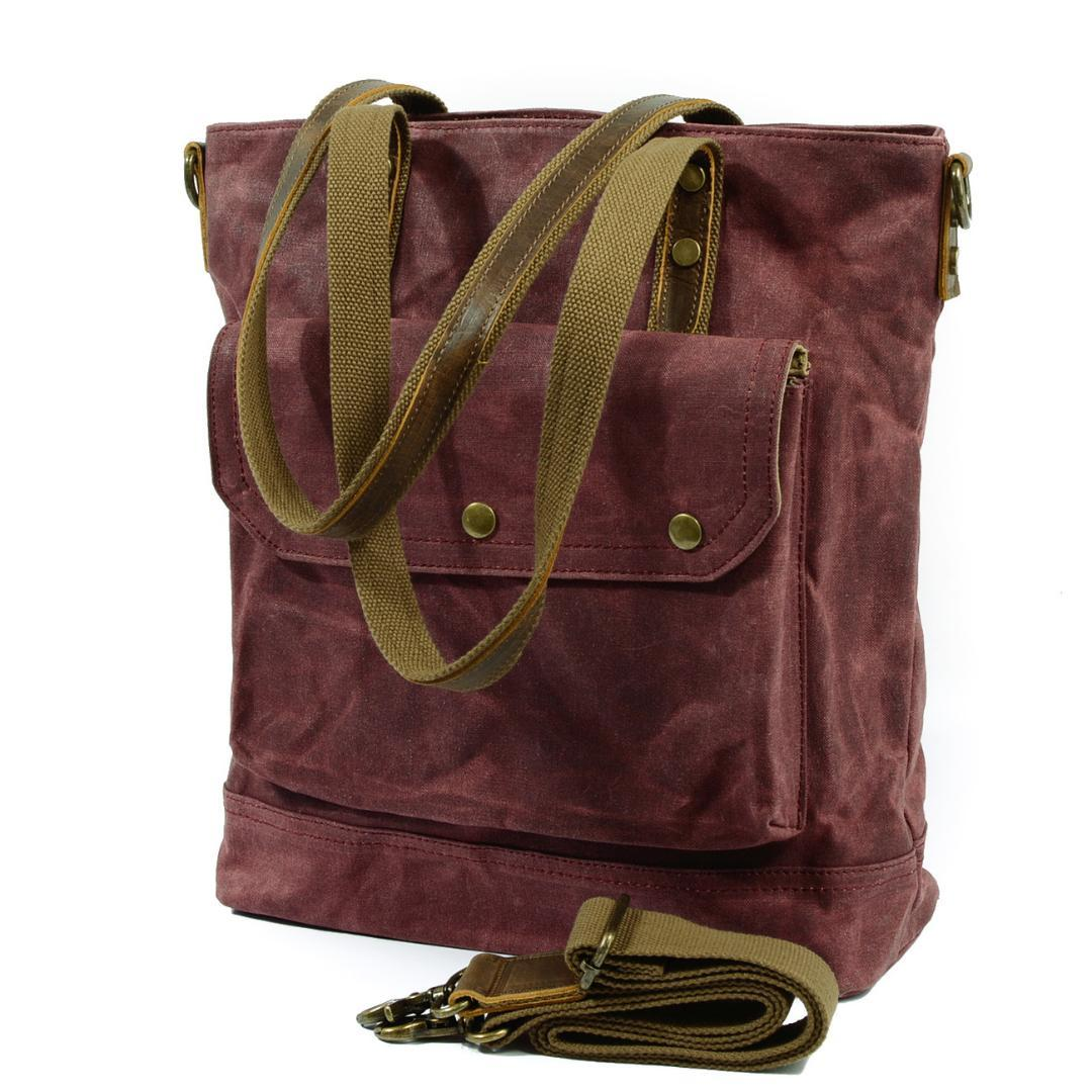 4a37c9fedd Man Crossbody Bag Multifunction Men Bag Retro Handbags Women Waxed Canvas  Shoulder Messenger Bags Leisure Waterproof Package Bags For Sale Handmade  Leather ...