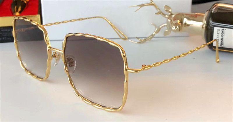 c36e53a2cddb New Fashion Brand Designer Sunglasses MJ 120 Metal Square Retro ...