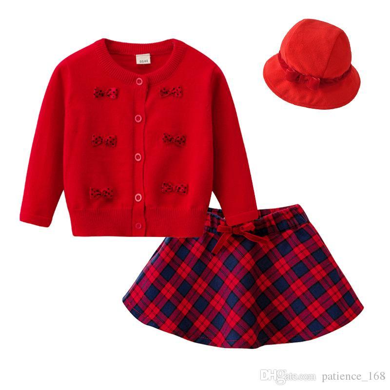 2cb3c256f 2019 Christmas Suit 2018 INS Autumn Winter New Arrival Children Long ...