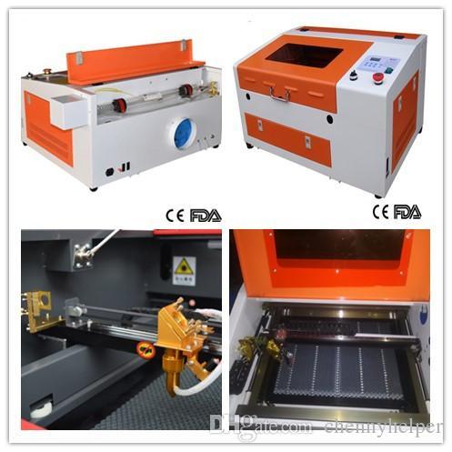 3040 50w laser cutting machine high grade ,300x400mm 50w laser engraving  machine for wood