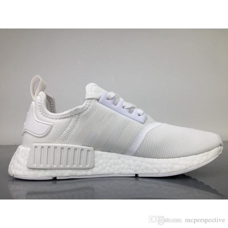 Adidas NMD R1 Triple White BA7245 36-45