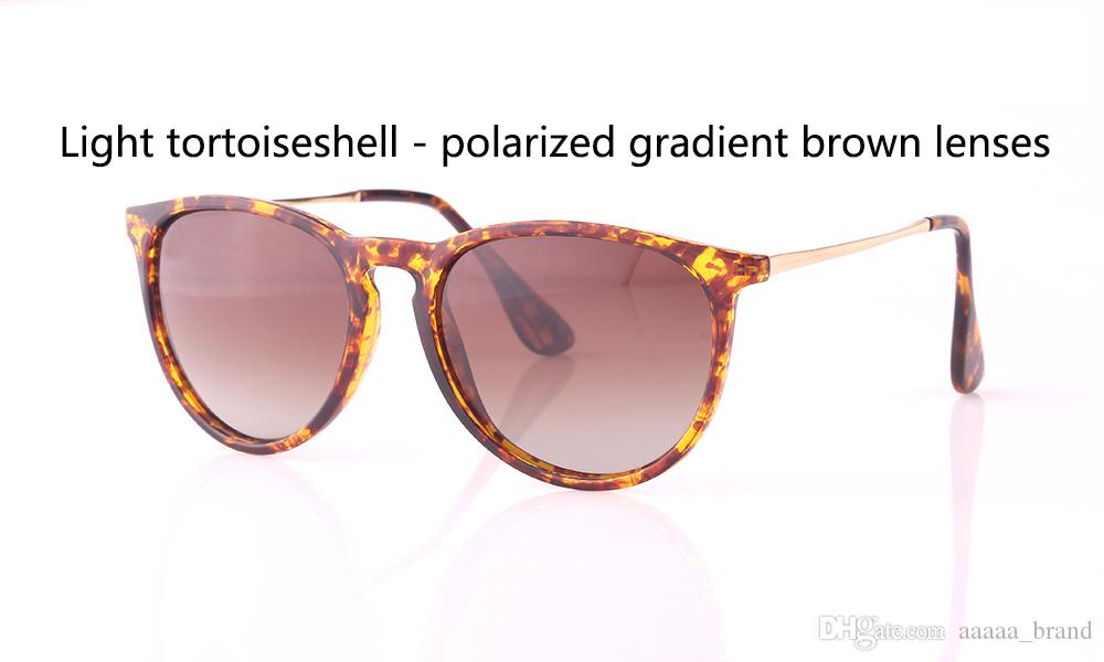 Vakalar ve etiket ile Yüksek Kalite 4171 Polarize Güneş Gözlüğü Erkekler Kadınlar Marka Tasarımcı UV400 Gözlük Güneş Gözlükleri Gradyan Lensler
