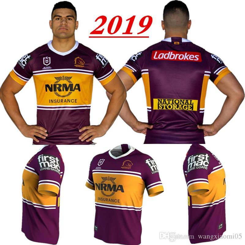 fff0b6cbbe4 2018 NRL JERSEYS BRISBANE BRONCOS Hot Sales Brisbane Broncos Jersey Rugby  Jerseys Shirt Club Size S-3XL SYDNEY ROOSTERS Rugby JERSEYS NRL QUEENSLAND  COWBOYS ...