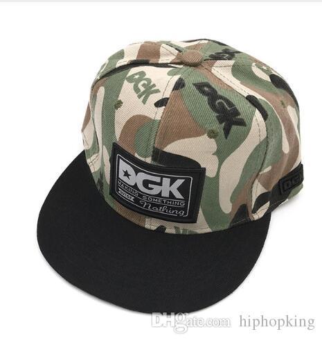 263246a0 Brand DGK Snapback Caps Flat Hip Hop Baseball Cap Casquette Gorras Hat  Adult Camouflage Adjustable Planas Hats For Men Women Trucker Hat 59fifty  From ...