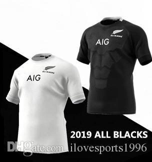 1a25ad572f16d 2019 2019 New Zealand All Blacks Home Away Rugby Jerseys Super Rugby Shirt All  Blacks Jersey Size S 5xL From Ilovesports1996