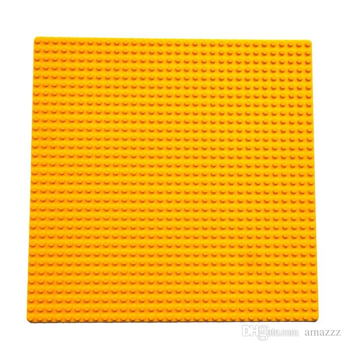 20pcs Building Blocks Base Plate small particle building blocks assembled puzzle baseplate 25.5x25.5cm DIY Toys Baseplate