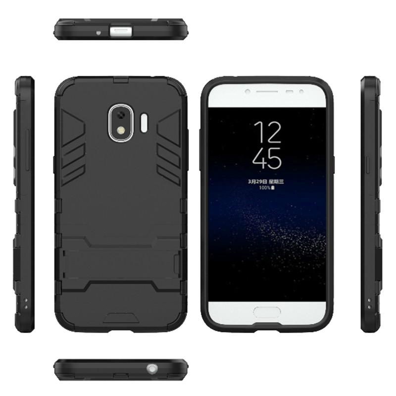 low priced e370f 6af8f For Samsung Galaxy J2 Pro 2018 Case Hard Rugged Hybrid Armor Protective  Slim Back Cover For Samsung J2 Pro 2018 j250f bags