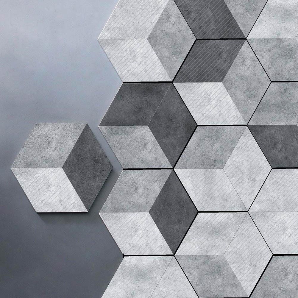 Grosshandel 10 Teile Satz Neue Nachahmung Marmor Hexagonal Fliesen