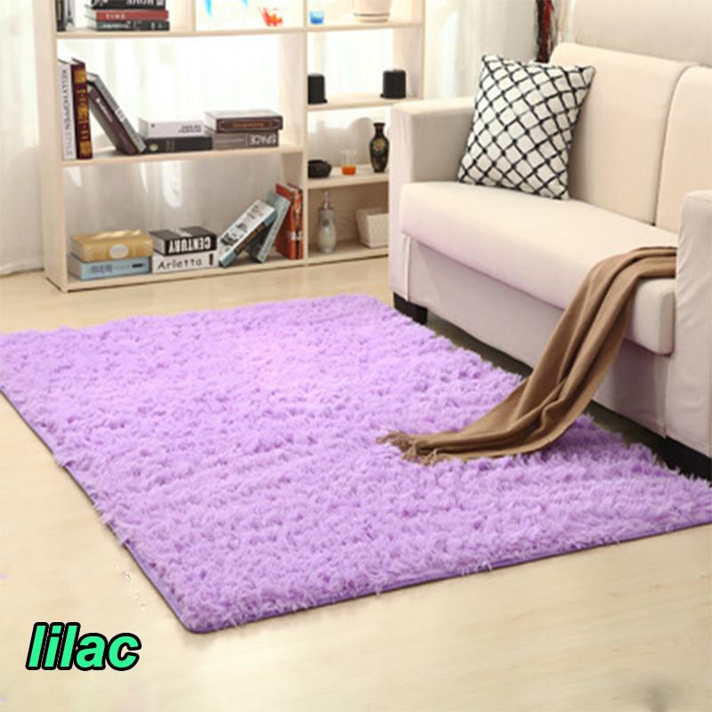 Akitoo 119 3 Tent Good Lilac 16 Size Thickened Washed Silky Slip Rug ...