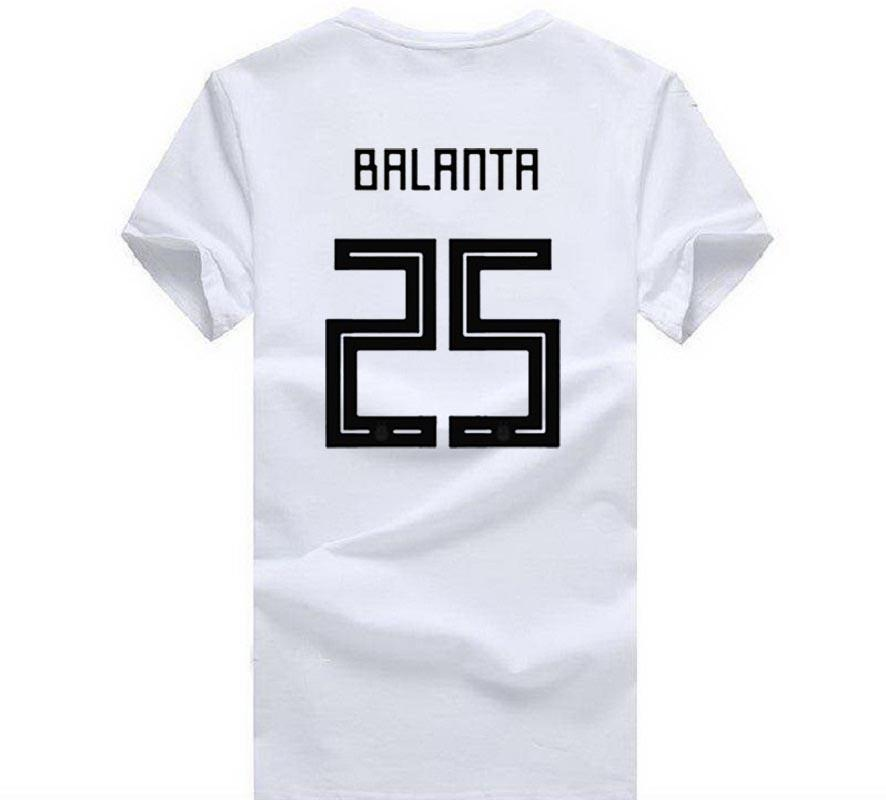 40a2e8893 ... Cup Fashion BALANTA 25 T Shirt Footballer Top Tee Men 100% Cotton O  Neck T Shirt Mens 2018 Fashion Brand T Shirt O Neck Cool And Funny T Shirts  Buy A T ...