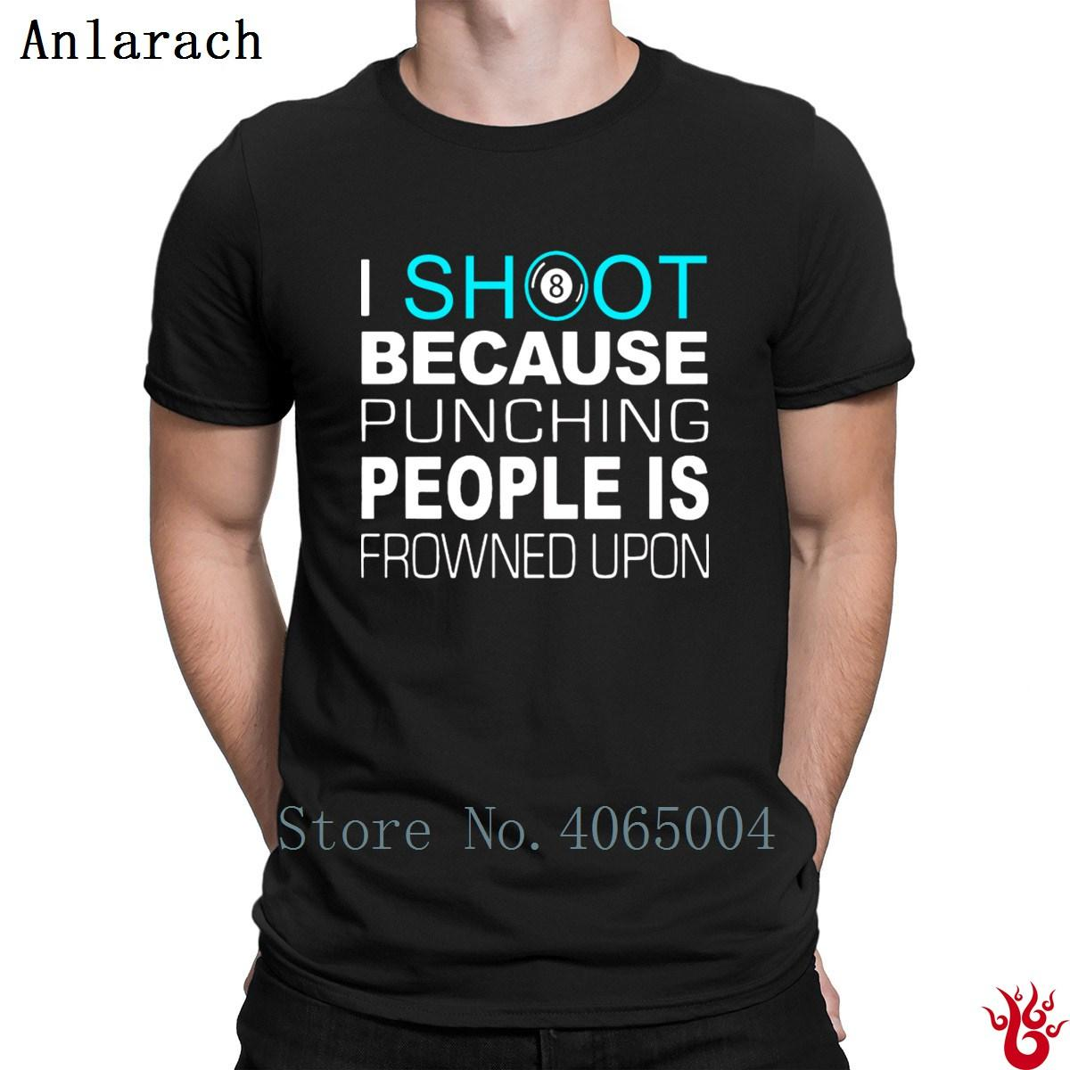 0ebb818f6f Billiards Punching People Funny T Shirt HipHop Tops Unique Gift Tshirt For  Men Summer Funny Short Sleeve Original Personalized T Shirt Online T Shirt  ...