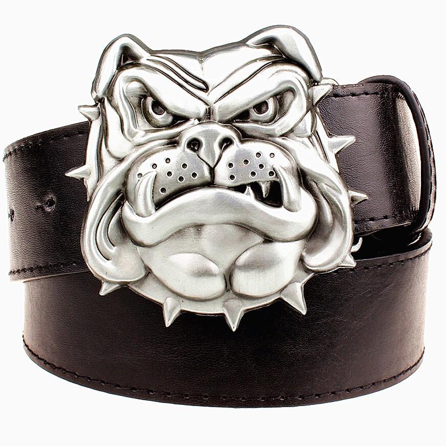 Acheter Bulldog Boucle Ceinture Pour Hommes De Luxe En Cuir Véritable  Ceinture Pour Hommes Ceinture De Mode De  20.14 Du Oem belts   DHgate.Com 999f14f0910