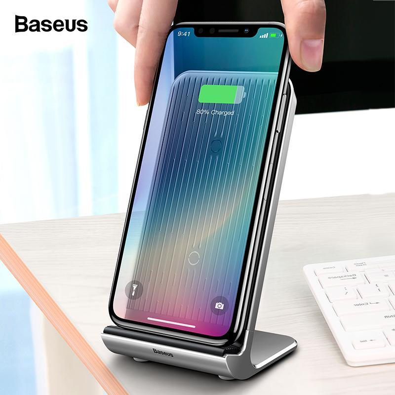 Kabellose Ladegeräte 10 W Schnelle Qi Drahtlose Ladegerät Handy Pad Für Samsung S9 S8 Note8 S7 Wireless Charging Pad Für Iphone Xs Xr X 8 Puls Ladegerät Schnelle Farbe Handy-zubehör