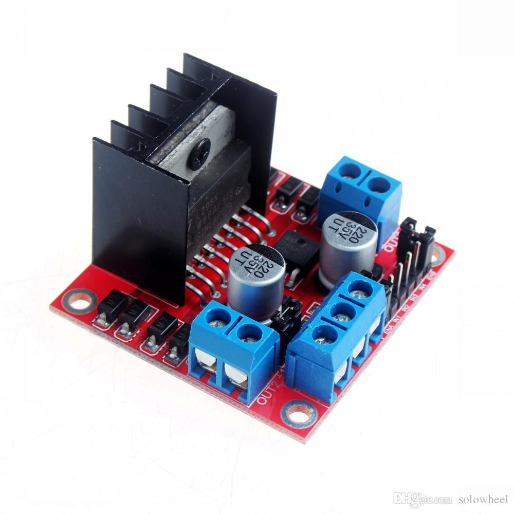 2018 L298n H Bridge Stepper Motor Driver Module For Arduino Dual L298 Diagram Also With Dc Controller Board From Solowheel