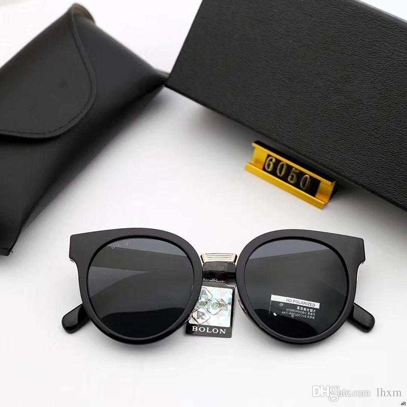 BL6050 Yüksek Kalite Güneş gözlükleri Kadın Erkek Güneş Benek Klasik Marka Tasarımcısı Plaj Tatil Güneş Gözlüğü UV400 Güneş Gözlüğü