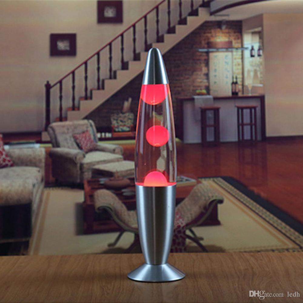 Cute 110v Metal Base Lava Lamp Wax Volcano Style Night Light Jellyfish Nightlight Glare Incandescent Lava Lighting Lamps