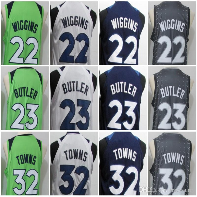 2018 New #22 Andrew Wiggins #23 Jimmy Butler #32 Karl-Anthony Towns ...